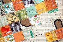 Geometric Inspiration / Quilts, scrapbook pages, and other inspiration using geometric shapes. / by Audrey Yeager