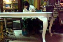 Tavolo da dipingere