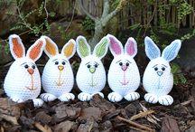 Crocheted stuffies