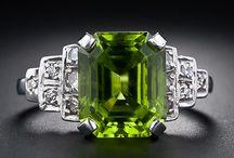 Peridot jewels