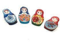 My Jewellery: Matryoshka  / A collection of beautiful Russian Doll jewellery made by Jackdaw Jewellery