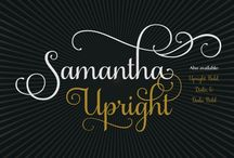 Fonts / Collection of fonts available for download for your digital products!