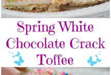 Rezept Toffee mit weißer Schokolade