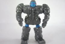 Rock Lords / Released in 1986, this toy-line lasted one series before being cancelled.