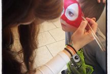 Face Paintings / Face paintings created by the artists of Welcome to Neverland.