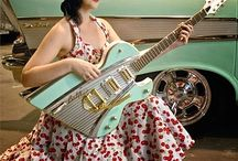 Vintage Car Parts guitars