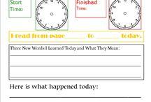 Jill learning ideas / by J A. O'C