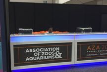 The Association of Zoos & Aquariums 2017 Annual Conference / Reynolds Polymer Technology was excited to be at The Association of Zoos and Aquariums' Annual Conference! Animal welfare, conservation efforts, scientific education, and cutting edge technology - it was a great week!