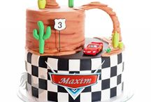 Car's birthday cake