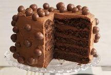 TORTAS  Y  PASTELES / Diferentes  tipos de tortas y pasteles
