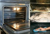 Reiniging van de oven