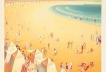 Affiches des Sables d'Olonne / Exemples d'affiches publicitaires des Sables d'Olonne