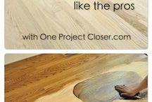 Floor refinishing tips