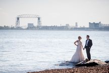 Weddings on Lake Superior / Lake Superior weddings near Duluth, MN.