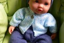 poupee tricot