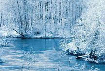 dipinti e paesaggi invernali