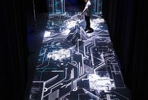 interactive&light installation