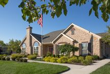"""The Villas at Park Place """"Around the Community"""" Photos / The Villas at Park Place is known for it's quaint, picturesque streetscapes. Surrounded by trees, with views of ponds, lighted fountains and lush landscaping."""