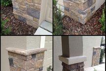 stone wall corners