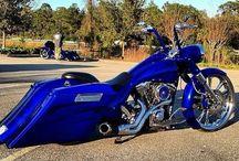 취미 Harley-Davidson road-king