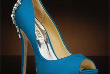 Blue Wedding Shoes -Something Blue / Stunning blue wedding shoes for your Something Blue