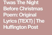 Poem tis the night begore christmas