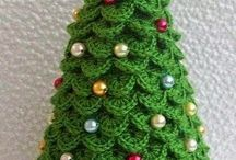Uncinetto Natalizio / Idee per addobbare la nostra casa o per fare un bel regalo di Natale