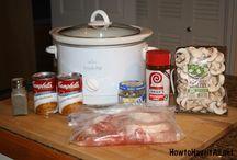 Slow cooker meals / Food