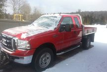 Used 2006 Ford F350 for Sale ($19,995) at Honesdale, PA / Make:  Ford, Model:  F350, Year:  2006, Exterior Color: Red, Interior Color: Gray, Doors: Four Door, Vehicle Condition: Good,  Transmission: Automatic, Fuel: Diesel, Power Windows.   Contact:  570-493-2537   Car ID (56777)