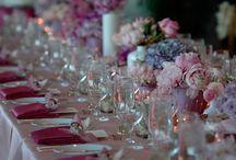 Long Table Wedding Centerpieces