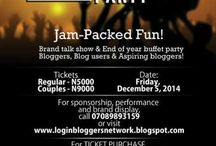 Bloggers' Party / Having a party for bloggers? Share it with us.