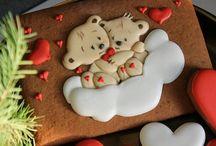 Пряники на День Валентина