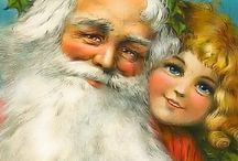 Vintage julekort