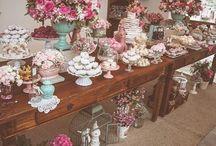 casamento mesa bolo e cerimonia altar