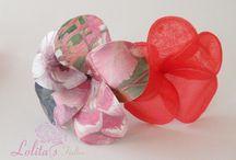 Flores de flamenca / Flores de flamenca diseñada a mano