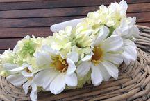 Head Garlands / Beautiful floral head garlands