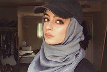 hijab baseball cap