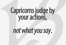 capricorn / Yeaaa i am proud to be a capricorn