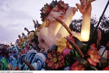 Mardi Gras World! / Where the props and floats for Mardi Gras are made every year.