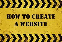 Recipe to make websites / Creation of website,