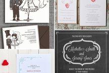 Invitasjon bryllup