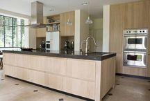 houten keuken / keukens