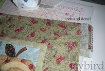 Mitred quilt corner / Quilt mitred
