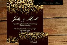 Invitations / Beautiful invitations and inspiration for design