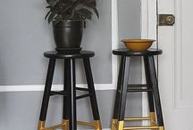 Dipped Home Trend / Dipped furniture and homeware