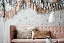 ENK Booth: MQK x TTDM / ENK Booth March 2016. Inspiration/ideas for color palette, textures and other elements to bring sparkle, whimsy, brand styling and magic to the space!