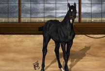 Fan art horses