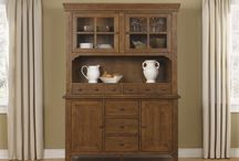 China, Bufetts, & Servers / China & Buffets serve as great storage furniture elements. They create a focal point in the dining or kitchen area. They make a great place for showing off china ware, expensive collectibles, or anything that may need to be showcased to show off to all family and friends.