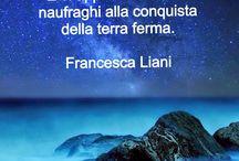 Aforismi di Francesca Liani / Distillati di pensiero a basso tasso alcolico.