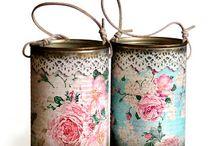 frascos y latas deco